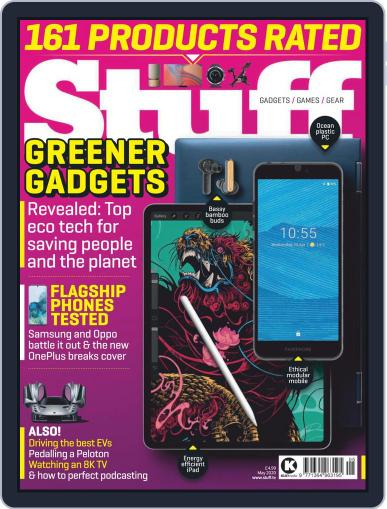 Stuff UK May 1st, 2020 Digital Back Issue Cover