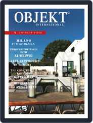 OBJEKT International (Digital) Subscription September 1st, 2015 Issue
