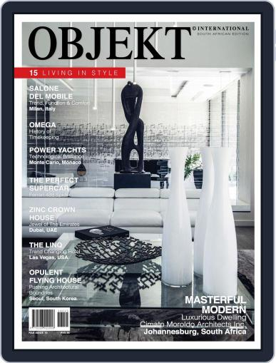 OBJEKT South Africa July 4th, 2016 Digital Back Issue Cover