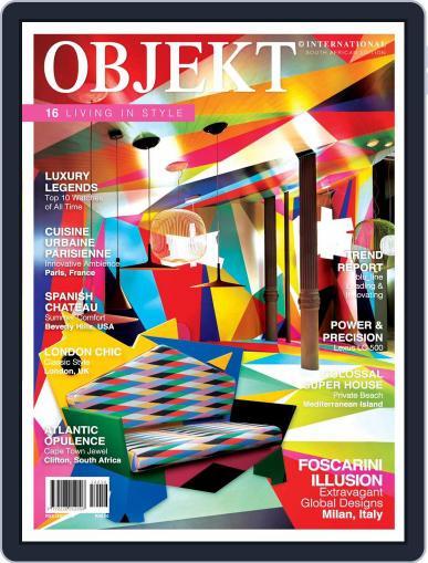 OBJEKT South Africa October 1st, 2016 Digital Back Issue Cover