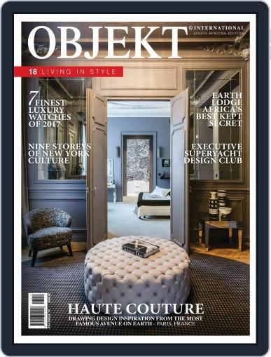 OBJEKT South Africa April 1st, 2017 Digital Back Issue Cover