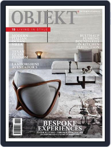 OBJEKT South Africa July 1st, 2017 Digital Back Issue Cover