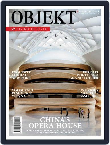 OBJEKT South Africa April 1st, 2018 Digital Back Issue Cover