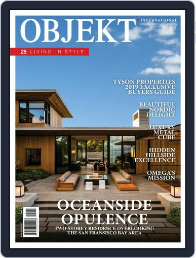 OBJEKT South Africa January 1st, 2019 Digital Back Issue Cover