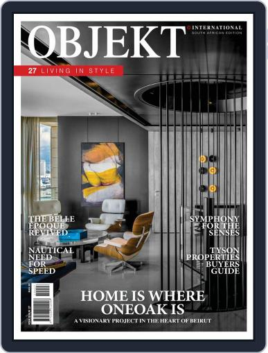 OBJEKT South Africa July 1st, 2019 Digital Back Issue Cover