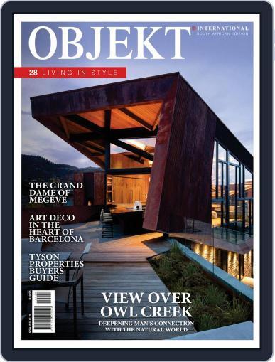 OBJEKT South Africa October 1st, 2019 Digital Back Issue Cover