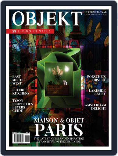 OBJEKT South Africa January 1st, 2020 Digital Back Issue Cover