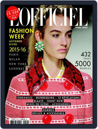 Fashion Week May 28th, 2015 Digital Back Issue Cover