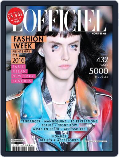 Fashion Week November 27th, 2015 Digital Back Issue Cover