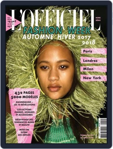 Fashion Week April 1st, 2017 Digital Back Issue Cover