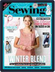Simply Sewing (Digital) Subscription February 1st, 2019 Issue