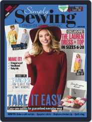 Simply Sewing (Digital) Subscription April 1st, 2019 Issue