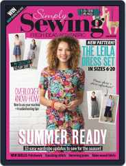 Simply Sewing (Digital) Subscription August 1st, 2019 Issue