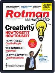 Rotman Management (Digital) Subscription October 15th, 2015 Issue