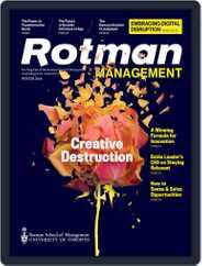 Rotman Management (Digital) Subscription January 1st, 2018 Issue