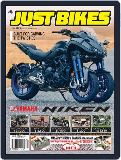 Just Bikes April 12th, 2019 Digital Back Issue Cover