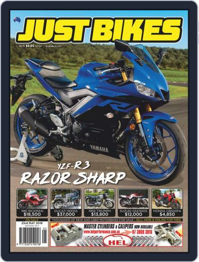 Just Bikes May 10th, 2019 Digital Back Issue Cover