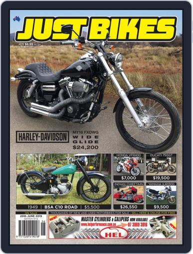 Just Bikes June 6th, 2019 Digital Back Issue Cover