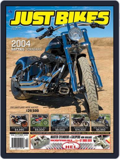 Just Bikes September 26th, 2019 Digital Back Issue Cover