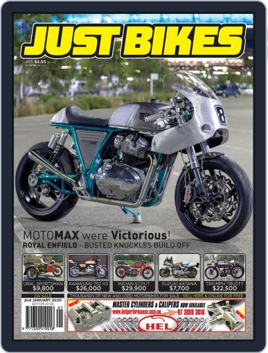 Just Bikes December 18th, 2019 Digital Back Issue Cover