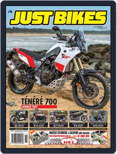 Just Bikes January 17th, 2020 Digital Back Issue Cover