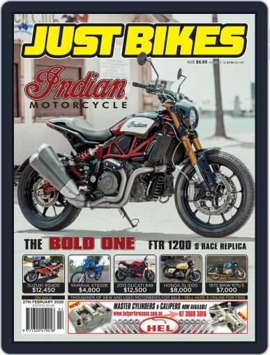 Just Bikes February 14th, 2020 Digital Back Issue Cover