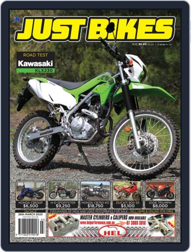 Just Bikes March 15th, 2020 Digital Back Issue Cover