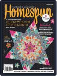 Australian Homespun (Digital) Subscription February 1st, 2019 Issue