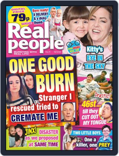Real People March 19th, 2020 Digital Back Issue Cover