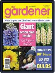 The Gardener (Digital) Subscription September 1st, 2015 Issue