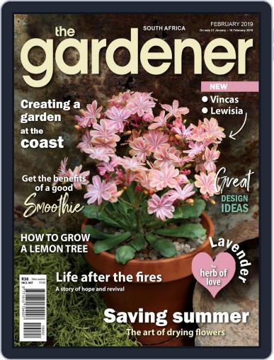 The Gardener February 1st, 2019 Digital Back Issue Cover