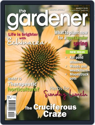 The Gardener March 1st, 2019 Digital Back Issue Cover