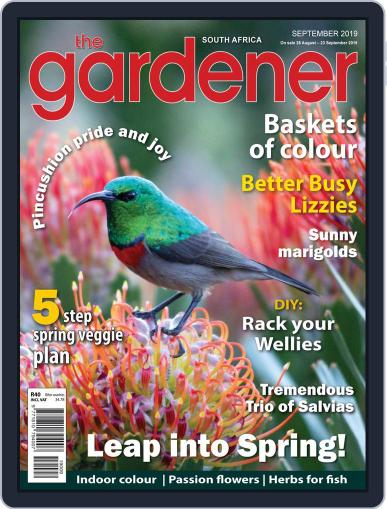 The Gardener September 1st, 2019 Digital Back Issue Cover