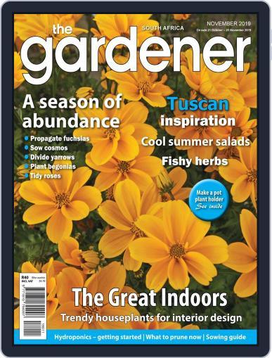 The Gardener November 1st, 2019 Digital Back Issue Cover