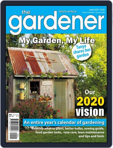 The Gardener January 1st, 2020 Digital Back Issue Cover