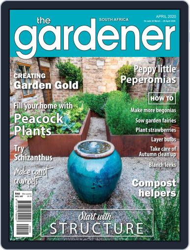 The Gardener April 1st, 2020 Digital Back Issue Cover