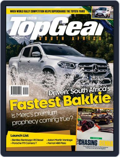 Top Gear South Africa August 1st, 2018 Digital Back Issue Cover