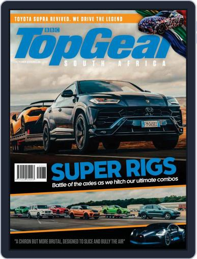 Top Gear South Africa October 1st, 2018 Digital Back Issue Cover