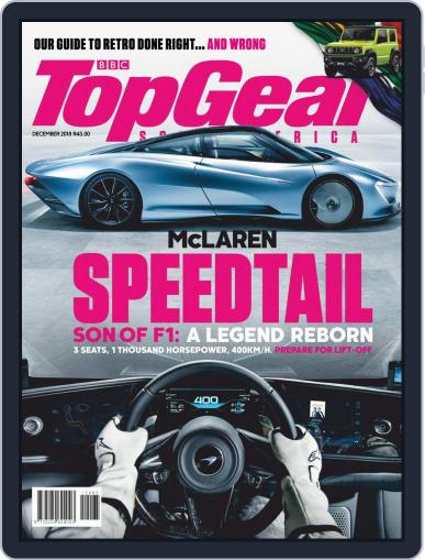 Top Gear South Africa December 1st, 2018 Digital Back Issue Cover