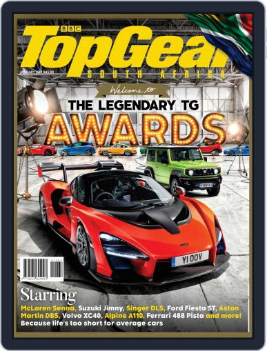 Top Gear South Africa January 1st, 2019 Digital Back Issue Cover