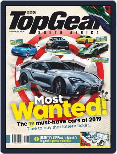 Top Gear South Africa February 1st, 2019 Digital Back Issue Cover