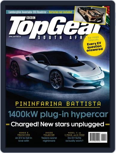 Top Gear South Africa April 1st, 2019 Digital Back Issue Cover