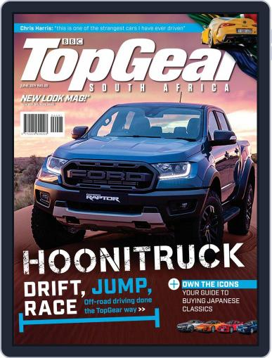 Top Gear South Africa June 1st, 2019 Digital Back Issue Cover