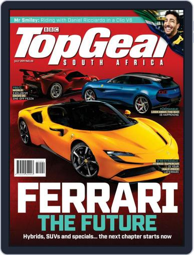 Top Gear South Africa July 1st, 2019 Digital Back Issue Cover