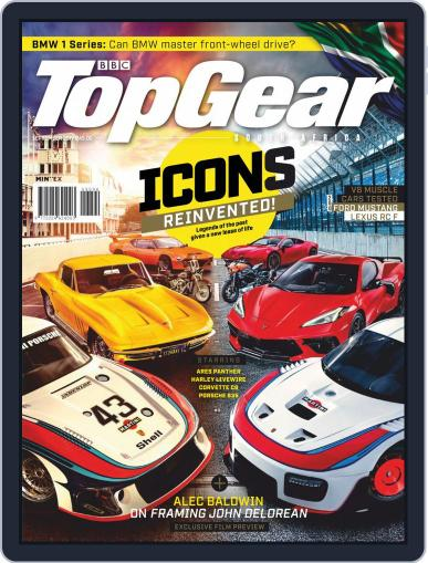 Top Gear South Africa September 1st, 2019 Digital Back Issue Cover