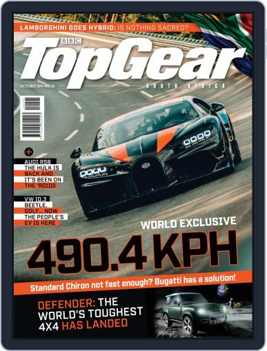 Top Gear South Africa October 1st, 2019 Digital Back Issue Cover