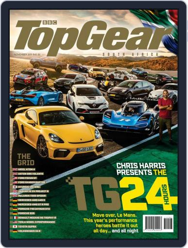 Top Gear South Africa November 1st, 2019 Digital Back Issue Cover