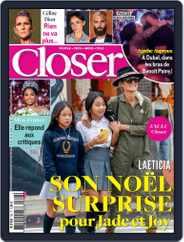 Closer France (Digital) Subscription December 20th, 2019 Issue