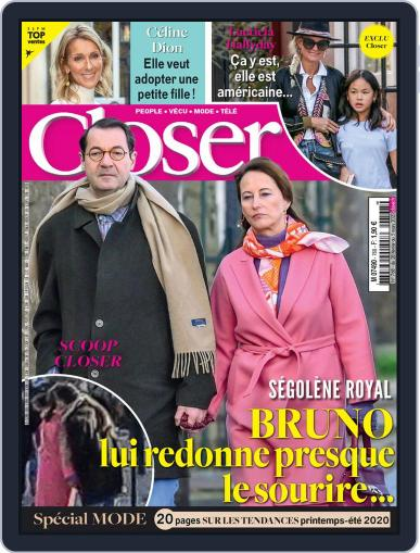 Closer France February 28th, 2020 Digital Back Issue Cover