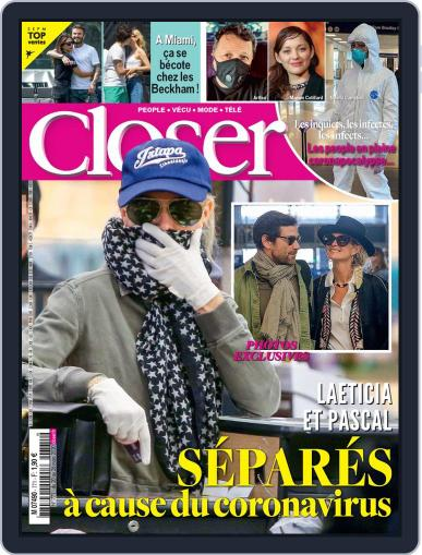 Closer France March 18th, 2020 Digital Back Issue Cover